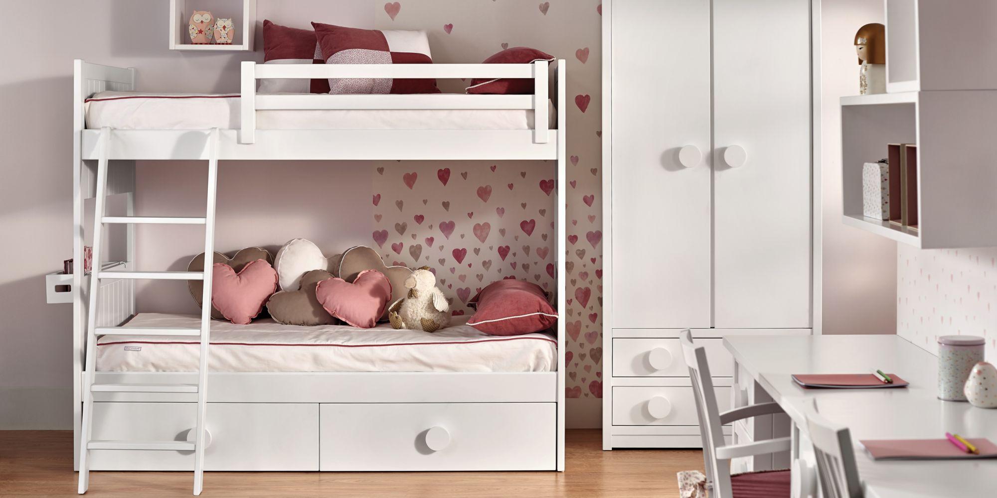 Litera con armario ideal para dormitorio infantil | Mueble Infantil