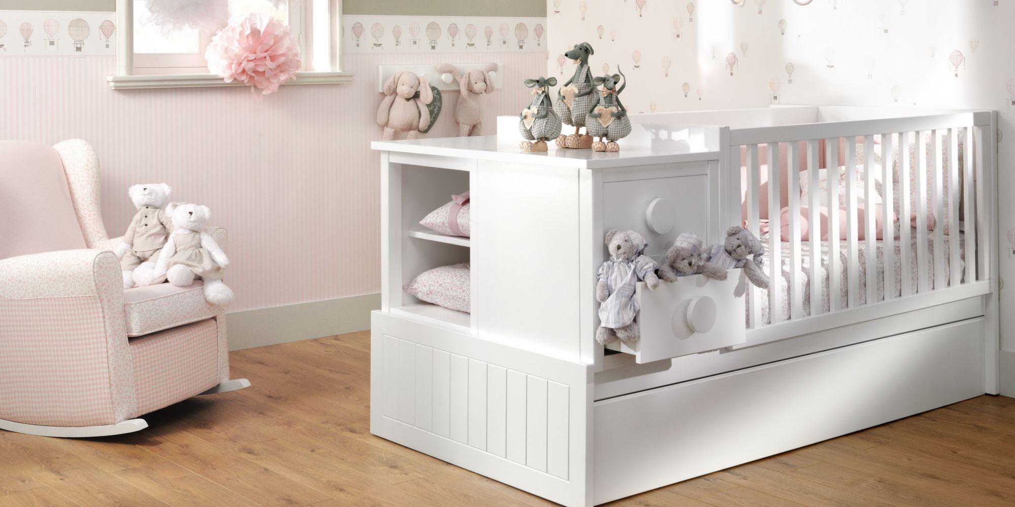 Convertible ideal para el descanso y confort de su bebe | Mueble de Bebé