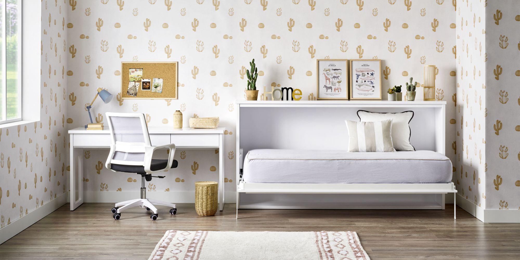 Cama horizontal habitacion pequeña