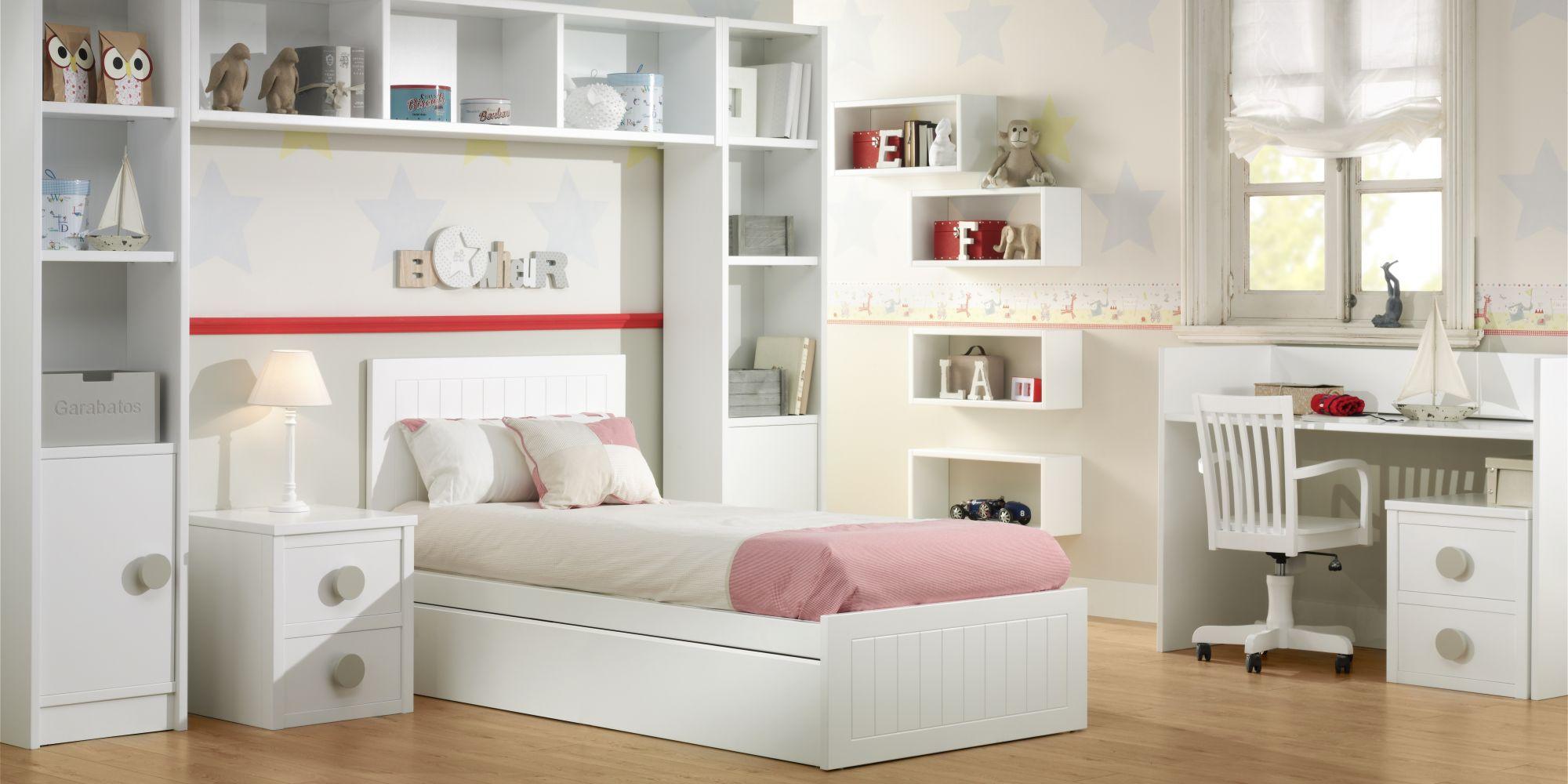 Convertible ideal para la primera cama