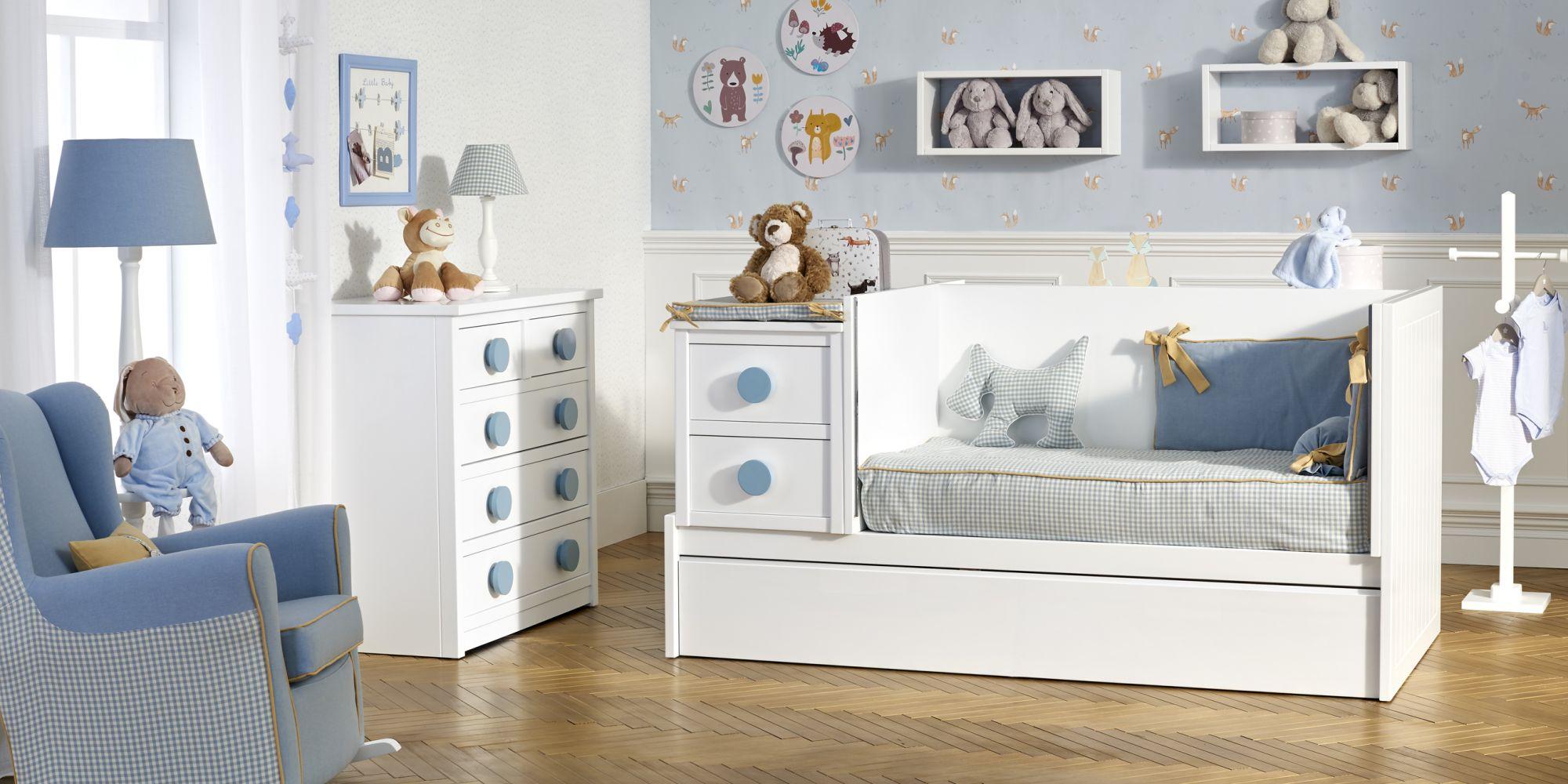 Convertible ideal para el descanso y confort de su bebe mas cómoda con amplio almacenaje   Mueble de Bebé