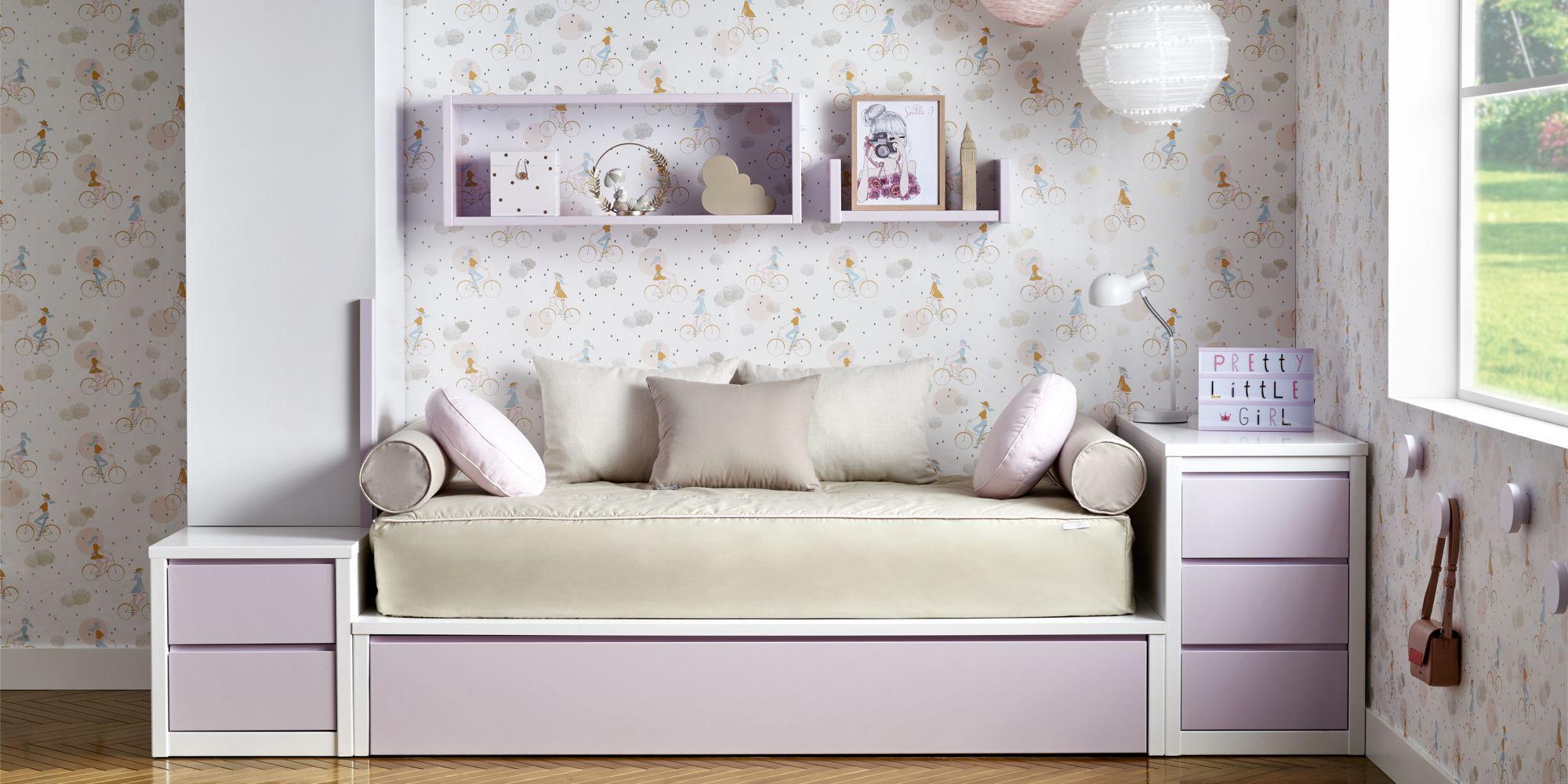 Habitacion con cama tatami y armario