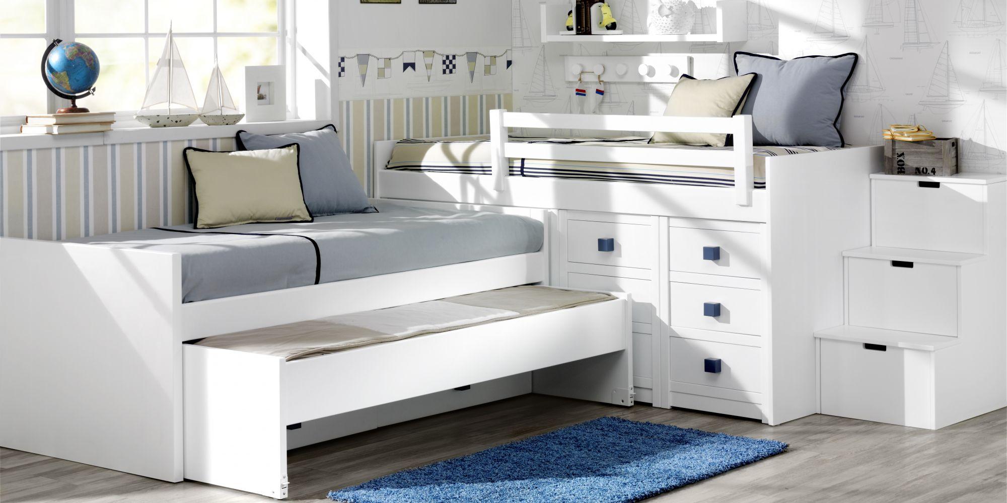 Minicompacto de dos camas más una supletoria