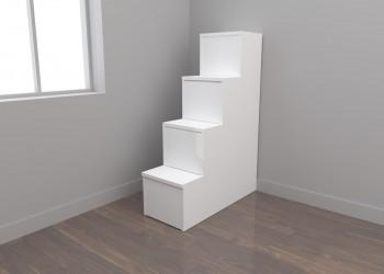 Escalera cajones 4 peldaños (40 cm)
