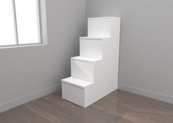 Escalera cajones 4 peldaños (50 cm)
