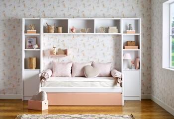 Compacto de una cama con amplio cajón inferior para almacenamiento