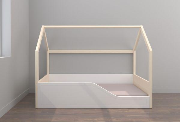Cama Montessori con somier y colchón