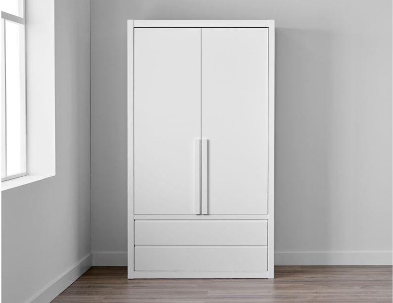 Armario 2 puertas y 2 cajones ancho 96cm