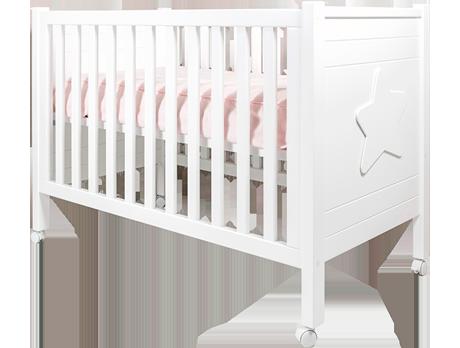 Cuna para bebé con ruedas
